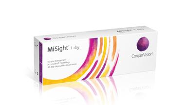 MiSight(R) 1 day kontaktlinser med ActivControl(R)-teknologi